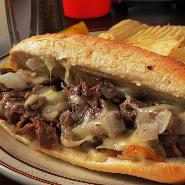 Cheesesteak and Chips